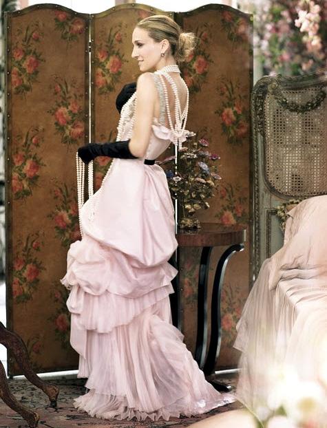 Svatebni Saty Pro Carrie Bradshaw A Sarah Jessicu Parker Brilas