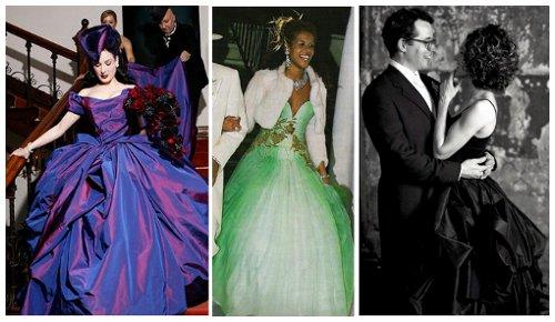 a934b21ee5d Barevné svatební šaty jsou hitem posledních let