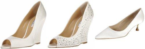 Oscar de la Renta - svatební boty na klínku a s nízkým podpadkem 10d7ca7843
