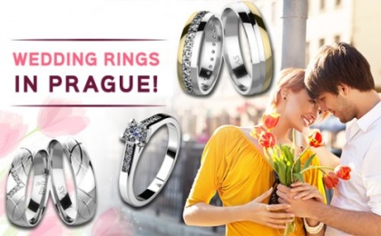 Wedding rings in Prague from Brilas – you will love them!