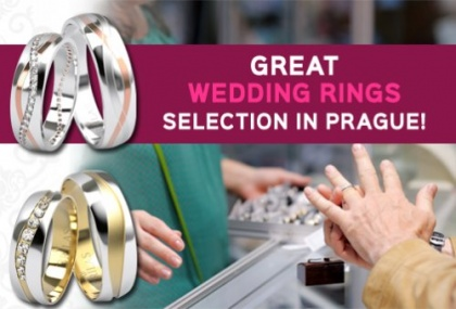 Brilas wedding rings in Prague