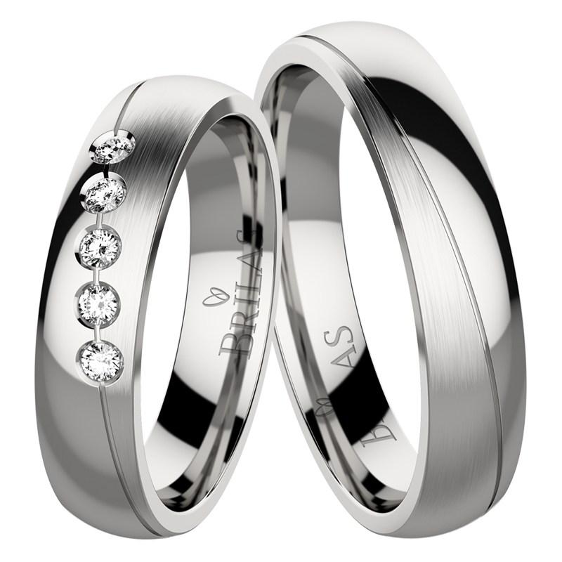 75fad8993 Bizaku Steel - netradiční snubní prsteny z chirurgické oceli | BRILAS
